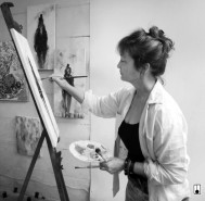 Frances Browne. Artist. Cheltenham