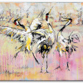 Crowned Cranes. Frances Browne. Artist