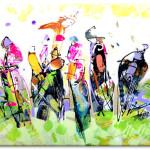 Racehorses. Frances Browne. Artist