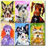 Dogs. Frances Browne. Artist